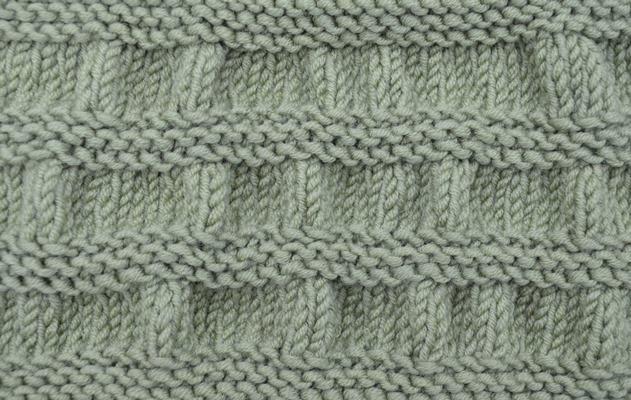 Knitting Gathered Stitches : Textured Knits