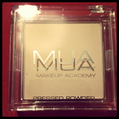 MUA pressed powder Superdrug