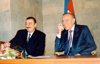 az azeri textbook aliyev heydar ilham dictator