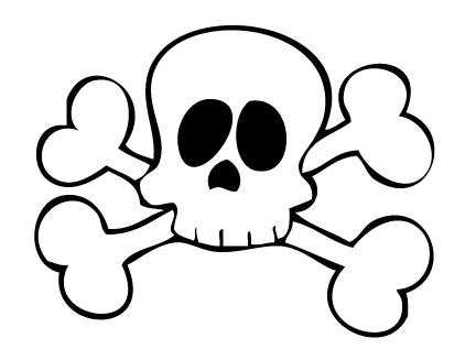 DEF DECO: Decorar en familia_Disfraz de pirata express: calavera