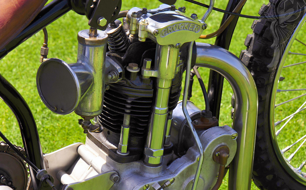 Vintage bike of the day 1934 crocker speedway bikermetric for Crocker motors used cars