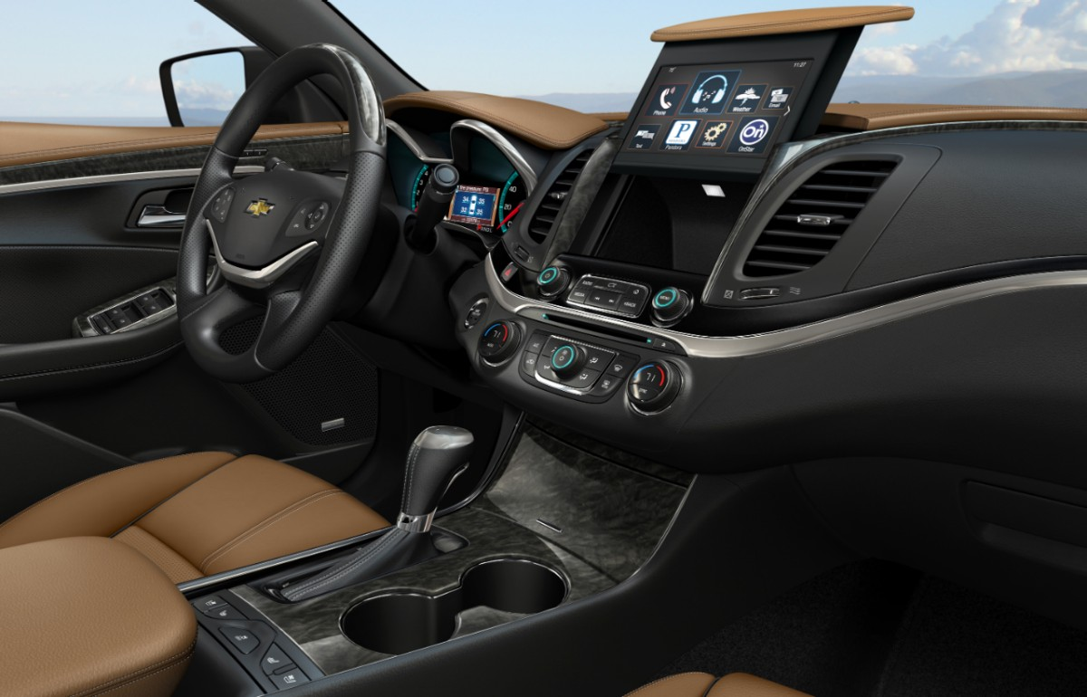 2014 chevrolet impala interior view