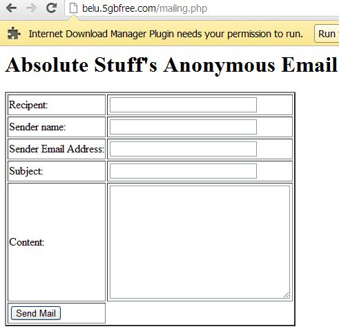 How to send fake email from fake email address