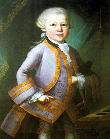Mozart 39 s music pictures - Composer son dressing ...