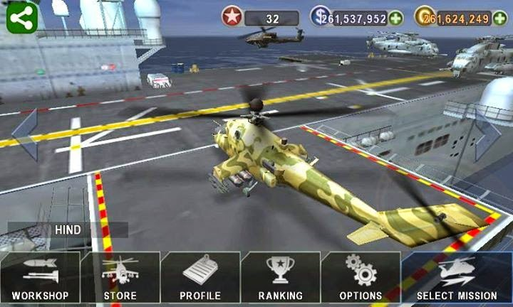 Helicopter 3D Gunship Battle APK MOD Money ,Free download game perang helikopter,permainan perang pesawat helikopter