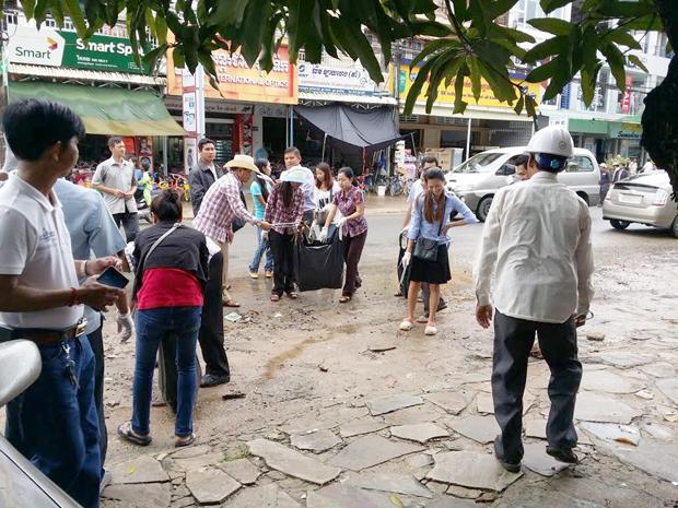 Sihanoukville propre. Photo: Ngo Somony
