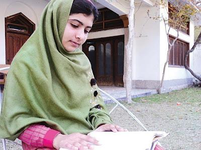 Malala Yousafzai in Swat