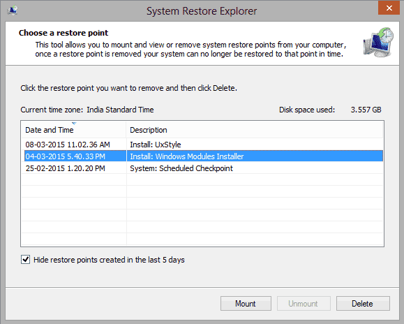 How to Recover Specific Files from System Restore Point