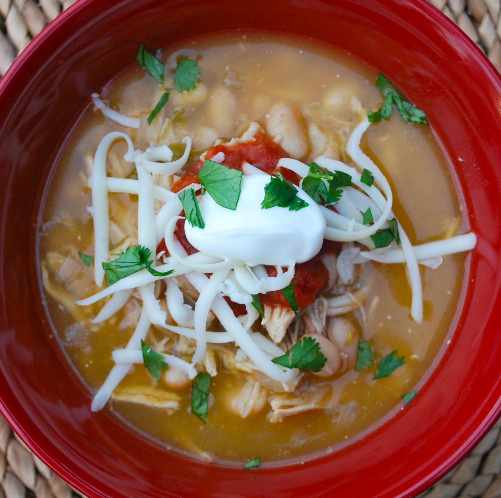 White Bean Chicken Chili - Amanda Jane Brown