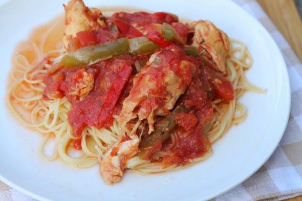 Easy Crock-Pot Chicken Cacciatore