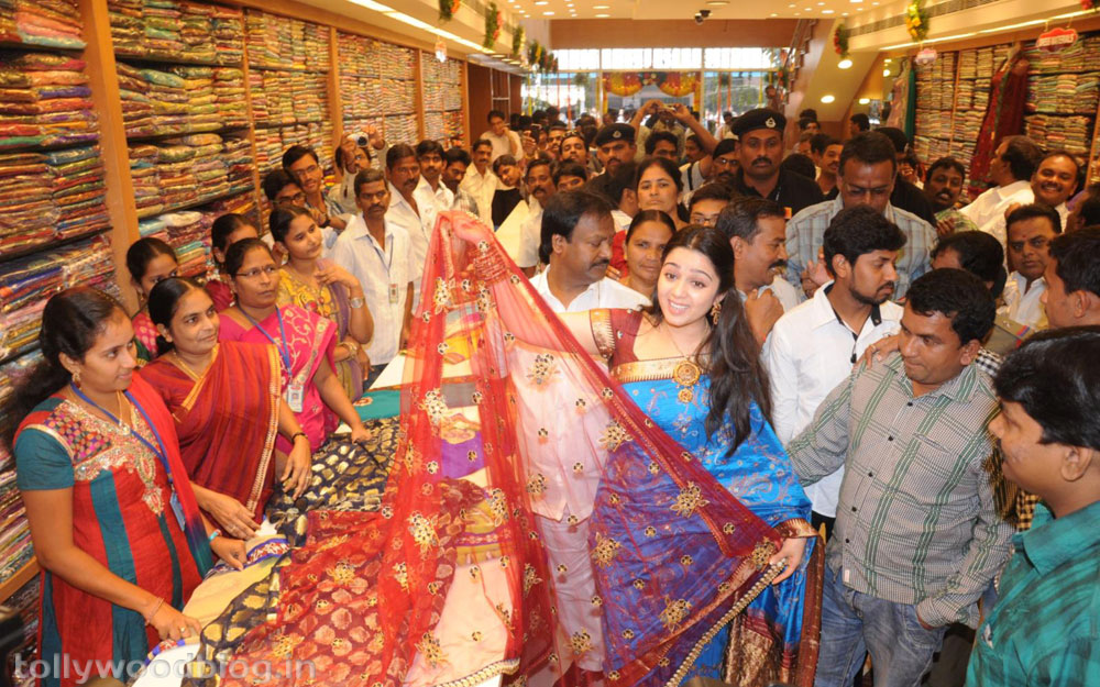 SVR Showroom Inagurated by Actress Charmi-HQ-Photo-4