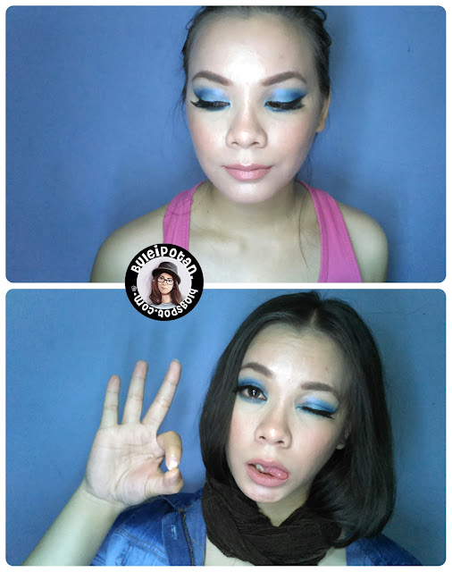 MOTD: Blue Ocean eyes and Nude Lips (Chrispy Recreate)
