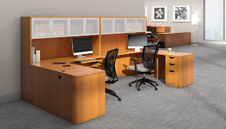 Offices To Go Two Person Workstation