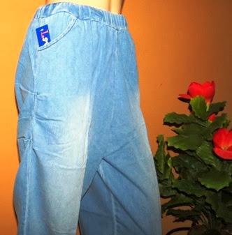 Grosir celana jeans kulot legging