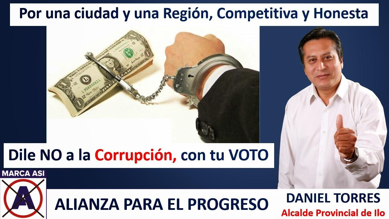 Dile no a la Corrupción, con tu voto