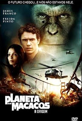 Filme Poster Planeta dos Macacos: A Origem TS XviD Dual Audio & RMVB Dublado