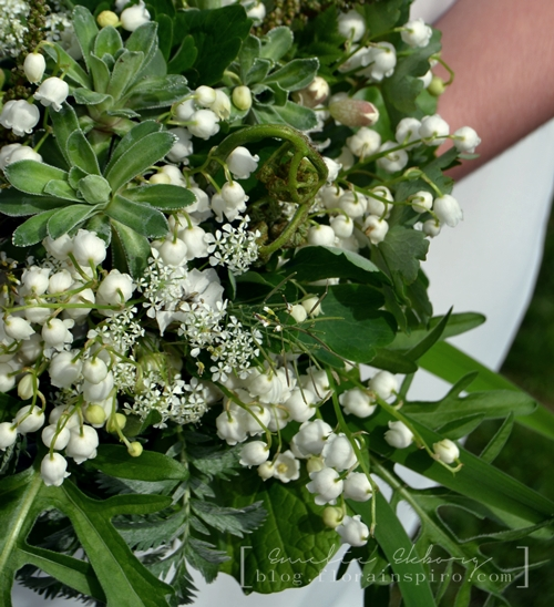 bouquet lily of the valley, lily of the valley, wedding bouquet lily of the valley, bridal bouquet lily of the valley