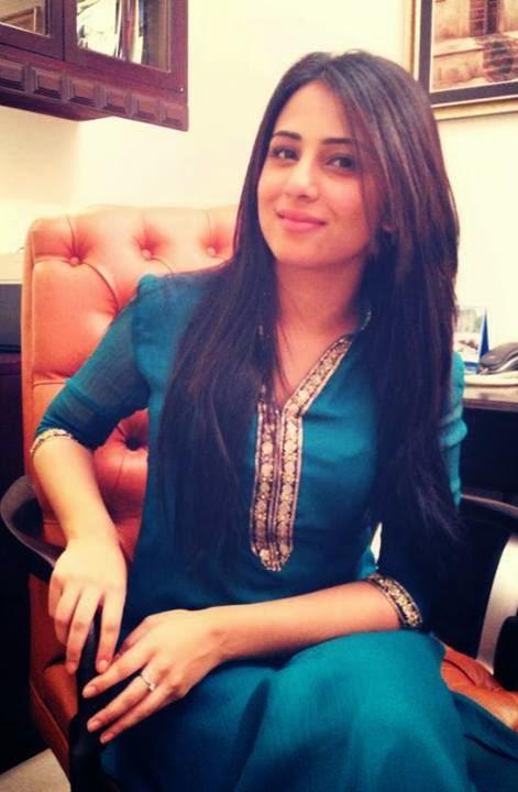 Ushna Shah is a Pakistani - Canadian Actress