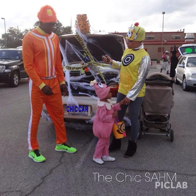 Yo Gabba Gabba Halloween costume family