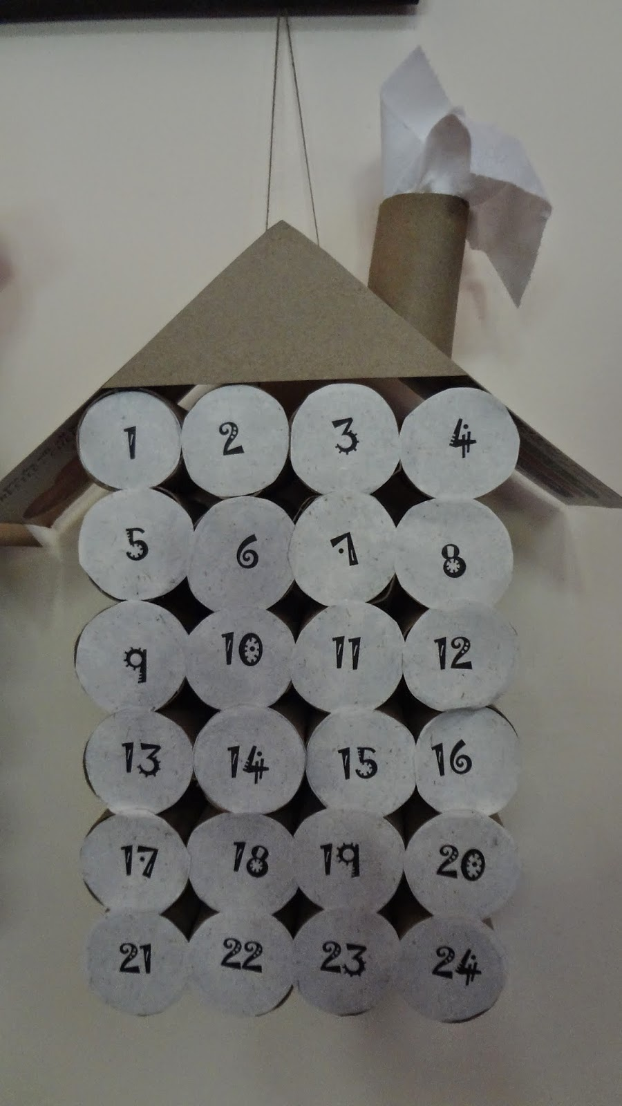 ReUpCycling : How To Make A Toilet Paper Roll Advent Calendar