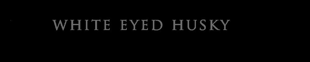 WHITE EYED HUSKY