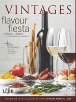 Cover of March 17 LCBO Vintages Magazine