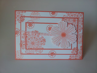 triple stamped card, stampin up mixed bunch, stampin up, flower, handmade card