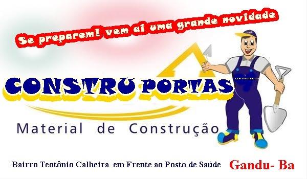 CONSTRU PORTAS MATERIAL PARA CONSTRUÇÃO