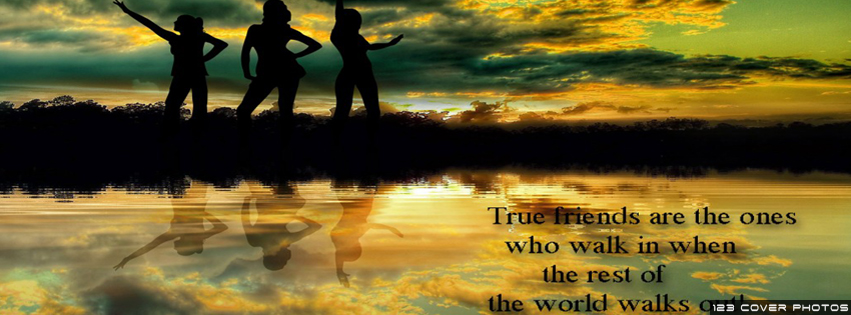 Friendship Quotes 3 FB Cover Pic