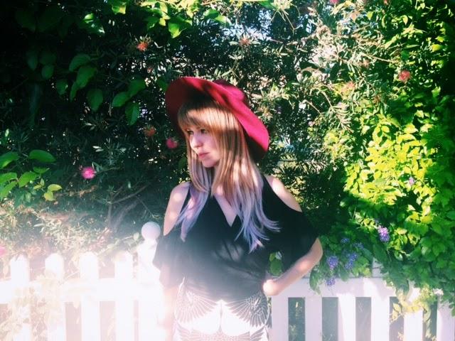 Goldrush blog, Trishawna, Lavender Locks, dyed hair
