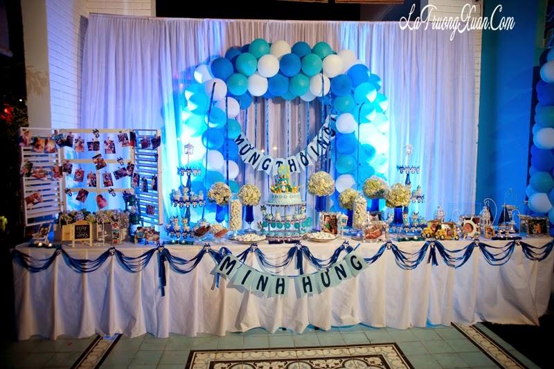 Trang trí bàn tiệc sinh nhật chuyên nghiệp