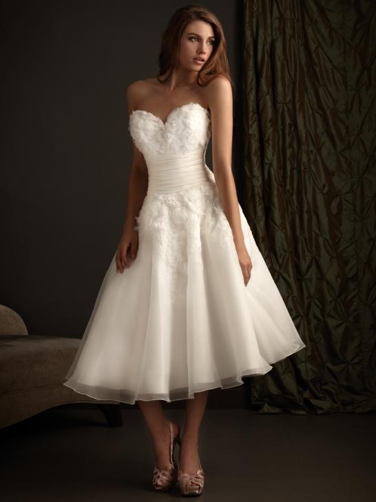 Brautkleider Kaufen Online De: Die Wahl von kurze Brautkleider