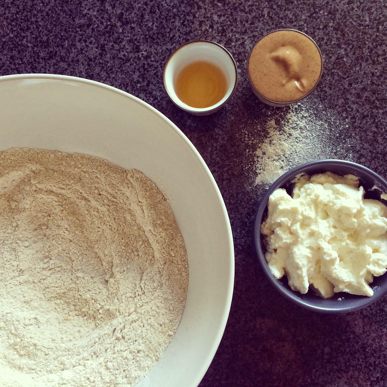 pâte à tarte sarrasin noisettes ricotta