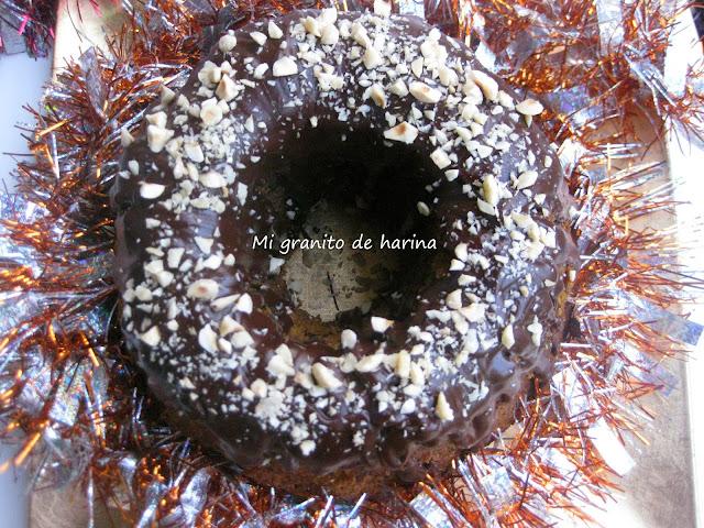 Bundt cake de calabaza y chocolate. Para los amantes de los bizcochos esponjosos y especiados.
