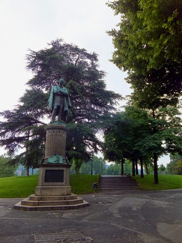 Turin Italie Pô parc parco del valentino
