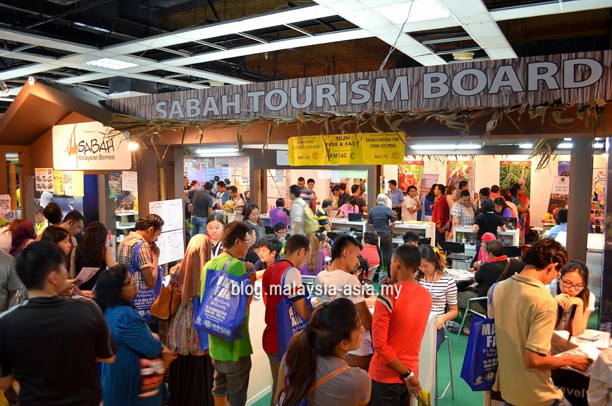 Matta Fair Sabah Booth
