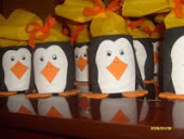 Latinhas de pinguim