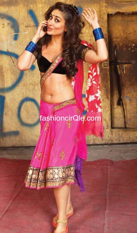 kareena kapoor navel halkat jawani behind the scene - Kareena Kapoor on the sets of Halkat Jawani - Unseen Pics