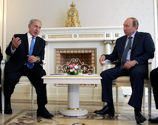 Vladimir Putin and Benjamin Netanyahu