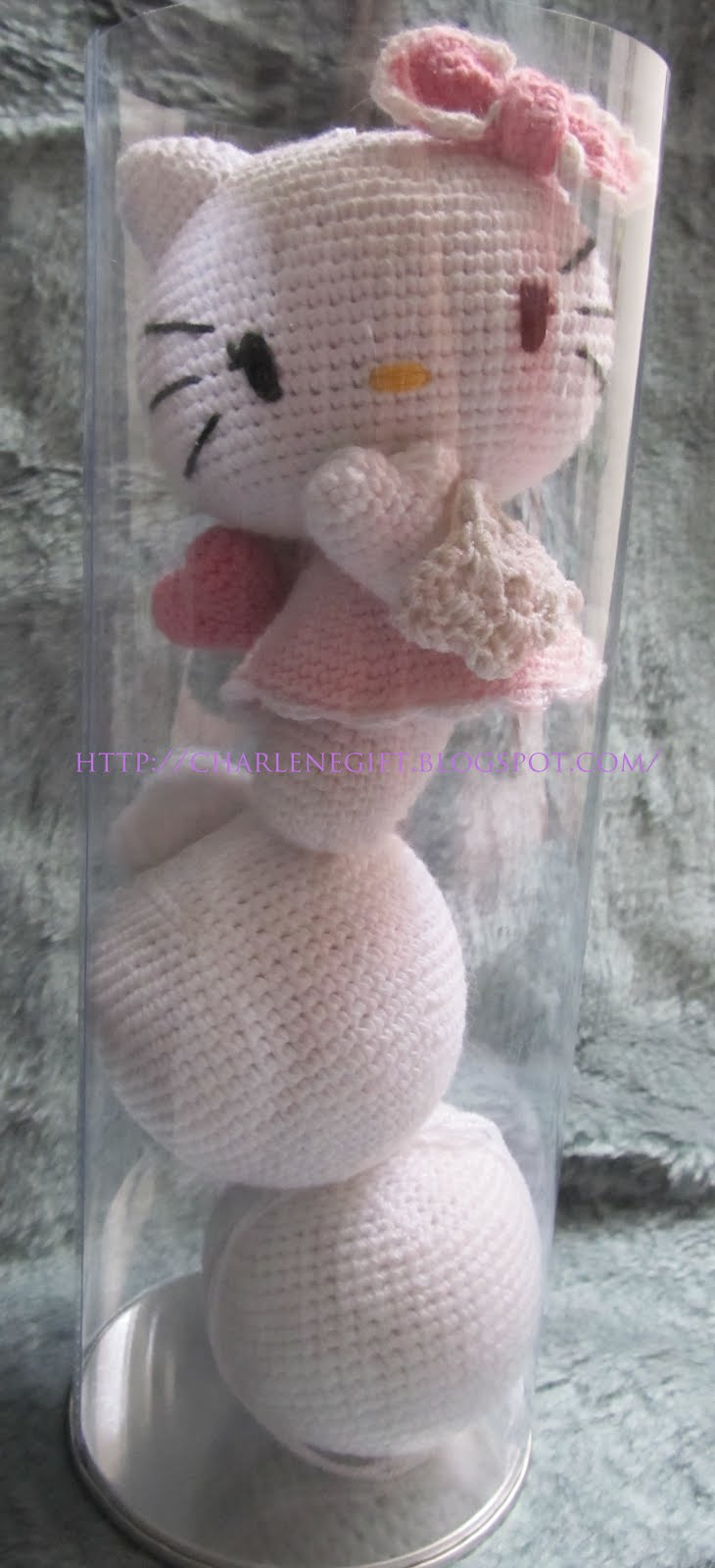 Amigurumi @ Charlene Gift n Craft: Pink Kitty Angel
