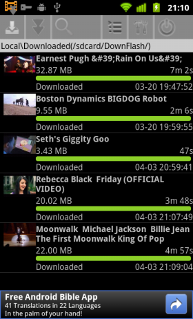 torrents on android with resume toptrix