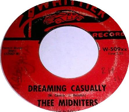 Thee Midniters Sad Girl Come Back Baby