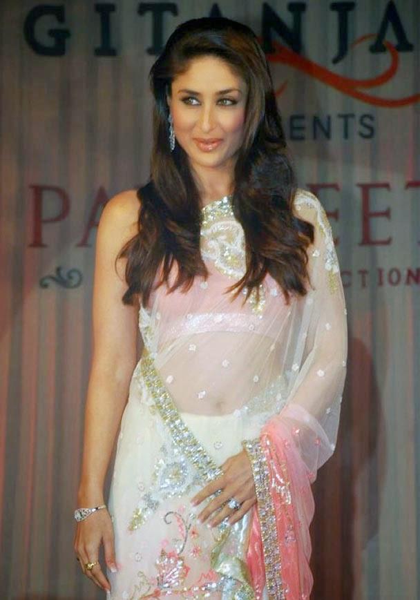 Kareena Kapoor Cute  in Saree