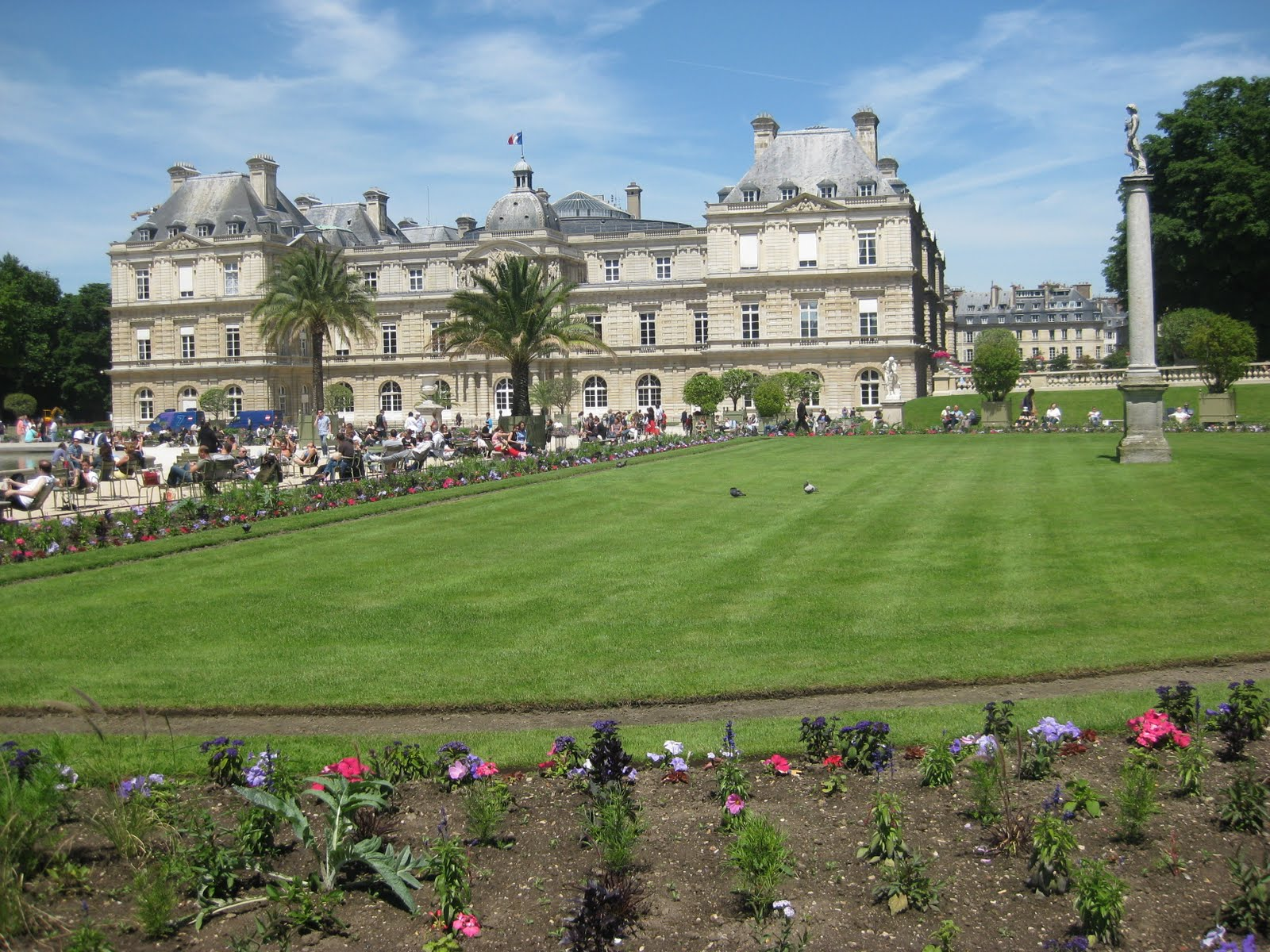 Visit paris the most 7 romantic locations lovely for Jardin luxemburgo