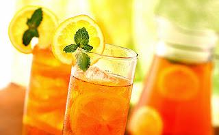 resep minuman segar   es lemon tea