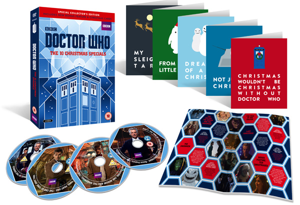 UK PREORDER - Doctor Who: The 10 Christmas Specials DVD & Blu-Ray ...