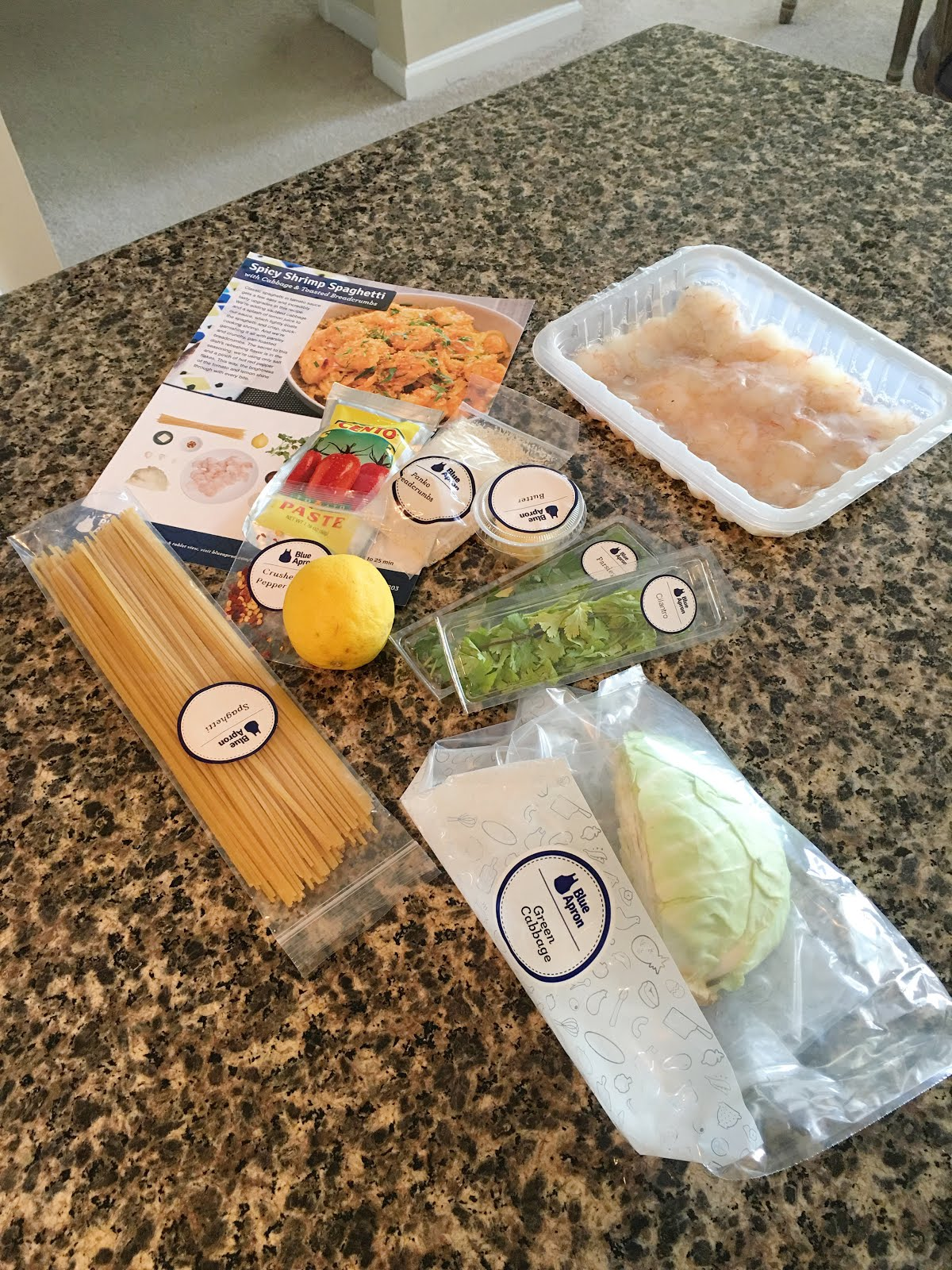 Blue apron yellow grits - I Would Never Have Thought To Cook Cabbage In Butter Or To Put It In Spaghetti For That Matter But It Was Delicious Now I Wouldn T Be Me If I Didn T Make