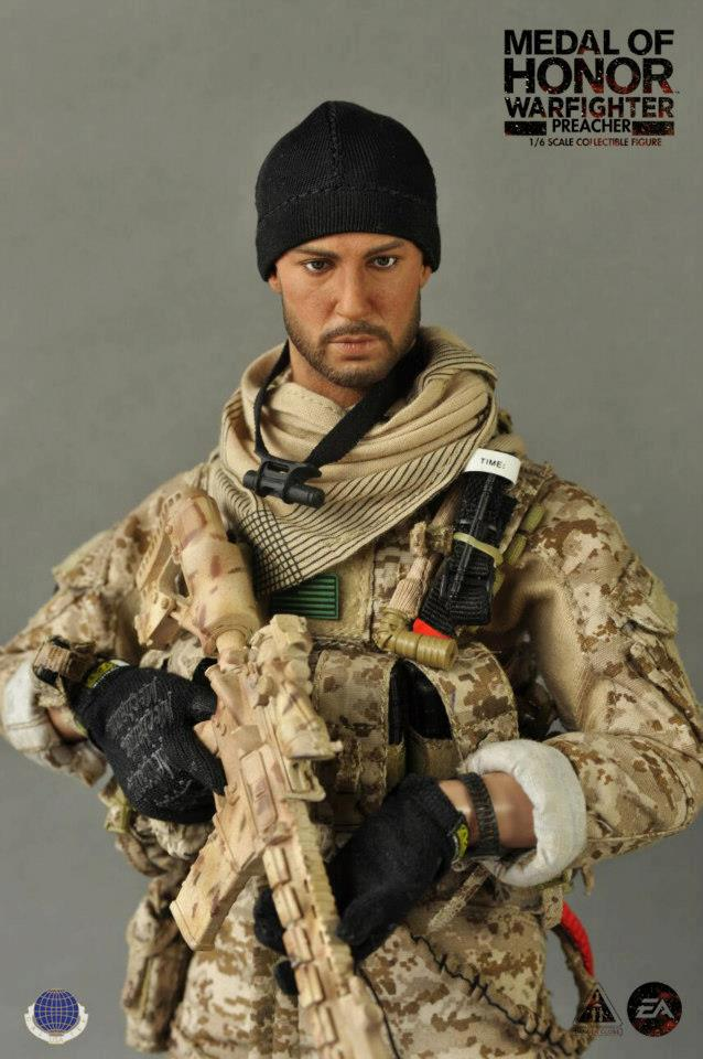 CalTek Preacher Medal of Honor Warfighter 1//6 Toy Wrist Pouch