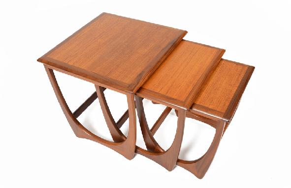 Modern Danish Nesting Tables