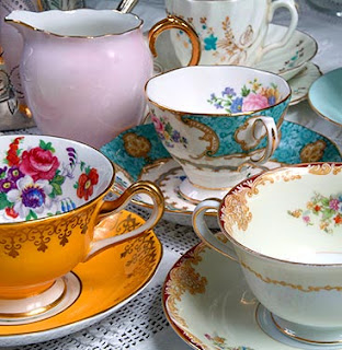 Vintage Art deco tea set-via Absolute Perfection blog